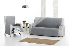 fundas de sofas 1,2,3,4 plaza reversible de sofa chaise longue tela acolchada
