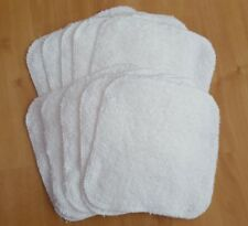 10x reusable washable cloth baby wipes wet wipes cotton terry.