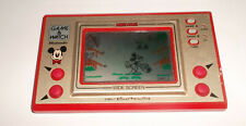 Nintendo Game & Watch Wide Screen MICKEY MOUSE MC-25 Made in Japan w Batt. Cover