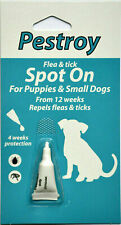 Flea and Tick Treatment for puppies & small dogs Pestroy by Bob Martin