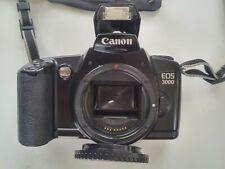 Kleinbildkamera Canon EOS 3000 mit Objektive EF 55-200 mm