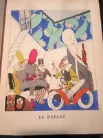 Plus ça change de Rip Illustrations Art Déco de Zyg Brunner 1922 bien relié