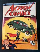 Action Comics # 1  Golden Age Replica Edition ☆☆☆☆ 1st Superman