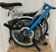 2020 Brompton H6R White/ Lagoon blue Fold bike 🌎World📦 P&P 📮📩6 speed BNIB