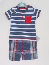 BABY SHORTS & T SHIRT SET AGE 0-3 MONTHS £4.79 FREE P&P
