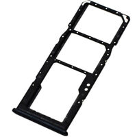 Dual SIM SD Card Tray For Samsung Galaxy A30s Replacement Slot Holder Black UK