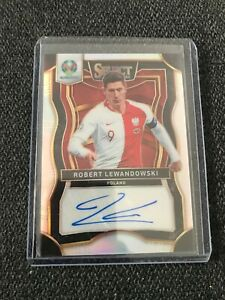 2020 Panini SELECT EURO Soccer ROBERT LEWANDOWSKI Auto perfect auto