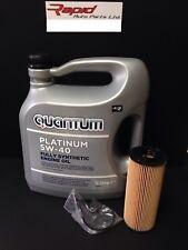 Audi  VW Quantum PLATINUM PD 5w40 Oil with oil filter HU726/1x 2x  - 5 Litres