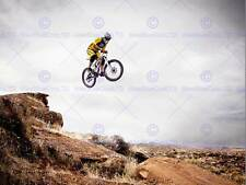 Lo SPORT MOUNTAIN BIKE JUMP CIELO Big Air Poster Art Print cm 30x40 bb3266b