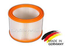 1 x Filter für Bosch GAS 20 LSFC (Vlies/Abwaschbar) Luftfilter Rundfilter Sauger
