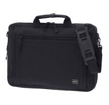 NEW YOSHIDA PORTER  CLIP BRIEF CASE  550-08961 Black With tracking From Japan