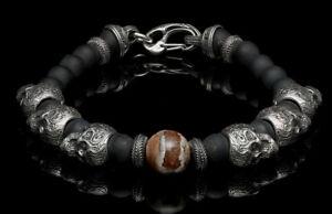 WILLIAM HENRY La Paz Bracelet, Extra Large (XL) BB5 MT BR, Retail $850