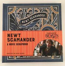 Fantastic Beasts Newt Scamander Movie Scrapbook Loot Crate Exclusive - New