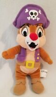 """Disney Chip & Dale 10"""" The Pirate Mickey Mouse Clubhouse Beanie Bean Bag Plush"""