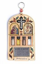 Home Blessing (Multiple Languages) - With Semi-Precious Stones from Jerusalem