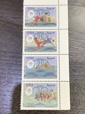 Syria 2019 Greece Patras Beach Olympic Games Stamp Pane