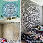Indian Ombre Mandala Tapestry Twin Throw Wall Hanging Boho Tapestries Dorm Decor