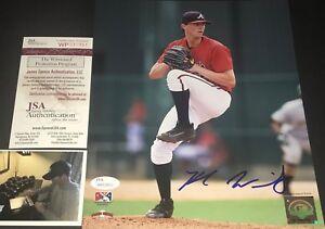 Kyle Wright Atlanta Braves Autographed Signed 8x10 Photo JSA WITNESS COA A