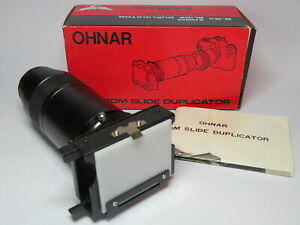 Ohnar Zoom Slide Duplicator with T-Mount Boxed