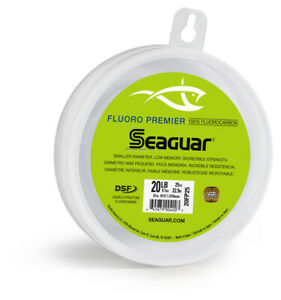 Seaguar 60FP25 Premier Fluorocarbon Leader Material 60lb 25yd