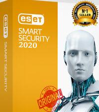 ESET SMART SECURITY / INTERNET SECURITY / NOD32 ANTIVIRUS 2020 ✅2 YEARS ✅1 PC✅ K
