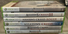 Assassins Creed Xbox 360 Lot All Tested And In Great Shape!!