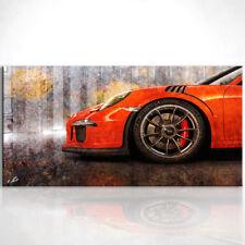 Porsche 911 gt 3 RS Sportwagen Auto Bild auf Leinwand Bilder Kunstdruck D0307