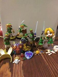 Legend of Zelda - Link amiibo Lot & other figures - Nintendo