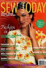 PRICE DROP  SEW TODAY Vogue McCall patterns magazines  Apr 2014 NEW