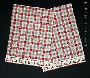 Geschirrtuch 2-tlg. Küchenhandtuch Küchentuch Handtuch Küche Baumwolle 50x70cm