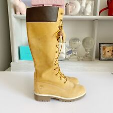 Knee High Classic Timberland Boots, Sz US 6
