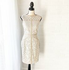 Maggy London Lace Dress Sz 8 EUC Boho Summer Wedding