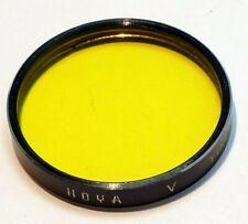 Hoya Y K2 Yellow Medium Filter series 5 V drop in type