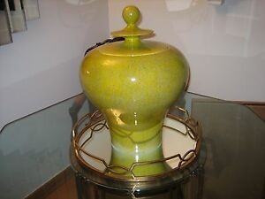 Global Views Citron Hand made Decorative Urn - 1836 - Lightly used