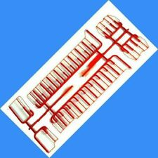 CHESSIE RED  GP35 R-T-R HANDRAIL SET  ATHEARN HO Scale
