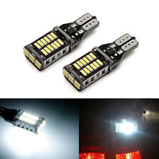 SOCAL-LED 2x CANBUS T15 921 Back up Bulb 4014 SMD Reverse Light 6000K White