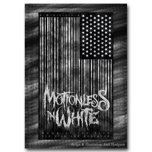 Motionless in White Gothic Metalcore Music Band Silk Poster 13x18 24x32inch J412