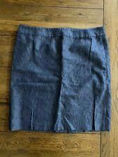 Talbots Denim Straight Skirt Size 18