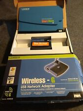 Linksys 2.4GHz Wireless-G USB Network Adapter - Linksys *new never used*
