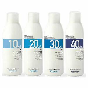 FANOLA Cream Developer Peroxide 1 Litre 1.05% 3% 6% 9% 12% 10 20 30 40 VOL1000ml