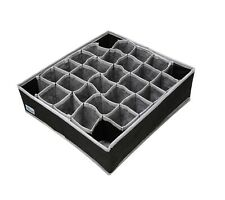 Periea Drawer Organiser 30 Cell Bedroom Underwear for Socks, Ties, Jewellery