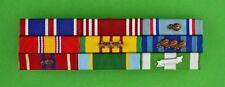 Air Force 9 Ribbon Bar - Vietnam War Service - made in Usa - Good Conduct Ribbon