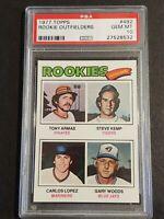 1977 Topps #492 Rookie Outfielders - PSA 10 - Tony Armas/Steve Kemp/Carlos Lopez