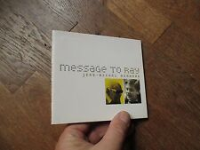 CD MUSIQUE ALBUM JEAN MICHEL BERNARD  message to ray charles