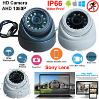 CCTV DOME CAMERA 2.4MP 4 IN 1 AHD TVI CVI CVBS ANALOG 1080P FULL HD NIGHT VISION