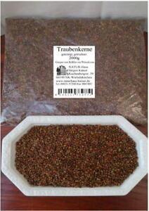 Traubenkerne lose 2kg Top Qualität! Schonend gereinigt! Thermisch behandelt!