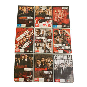 Criminal Minds Season 1 2 3 4 5 6 7 8 9 DVD