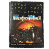 Marine Wars for Atari 2600 Complete In Box With Manual 1983 Konami