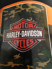 Harley Davidson Camo fleece blanket  throw NEW