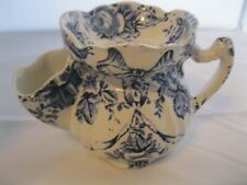 Victorian Shaving Scuttle Mug Garland James Kent England Transferware Porcelain